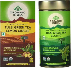 No1 green tea brands in india
