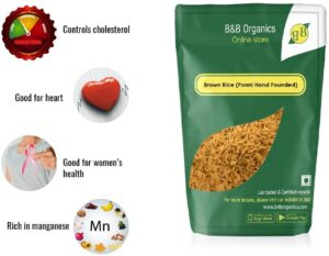 B&B Organic Brown Rice