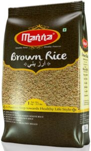 Manna Unpolished Brown Rice