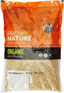 Pro Nature 100% Organic Sanamsuri Brown Rice