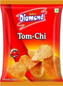 Yellow Diamond Potato CHips trank on 6 nmbr