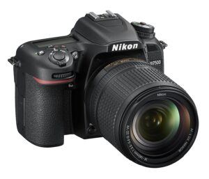Nikon D7500 20.9MP Digital SLR Camera (Black)